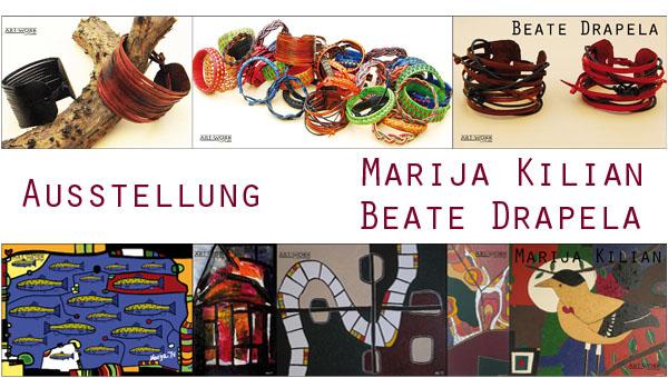 Ausstellung Beate Drapela_Marija Kilian_ART-WORK_News